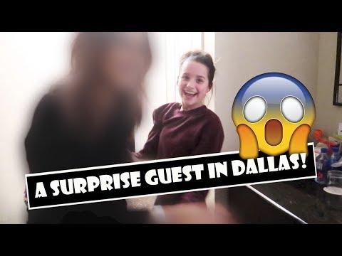 A Surprise Guest In Dallas 😱 (WK 373.2)   Bratayley