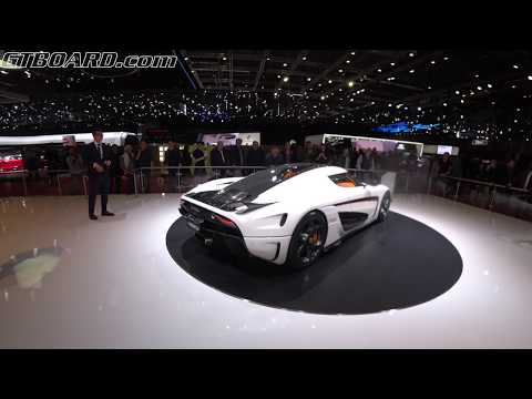 [4k] 28 min of Koenigsegg Geneva HEAVEN Regera Ghost Package, CCX, beer and more! Geneva 2018