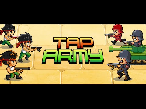 Tap Army - Official Launch Trailer (iOS Arcade Shooter)