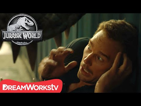 ALMOST EATEN: The Top 10 Closest Calls | JURASSIC WORLD