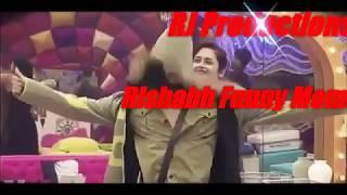 Rishabh Sinha Funny Moments in Big Boss RJ Productions