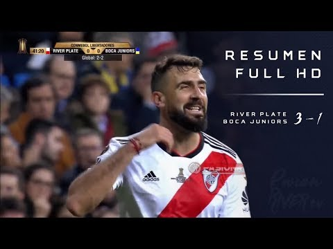 River Plate vs Boca Juniors (3-1) Copa Libertadores 2018 - FINAL VUELTA - Resumen FULL HD
