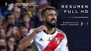 River Plate vs Boca Juniors (3-1) Copa Libertadores 2018 - FINAL VUELTA - Resumen FULL HD
