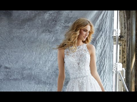 Mori Lee 8213 Katie Wedding Dress - YouTube