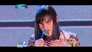 "Soñando por cantar  - Evangelina Rebozio cantó ""Digale"""
