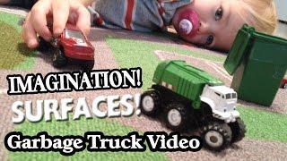 GARBAGE TRUCK Video For Children l IMAGINATION l