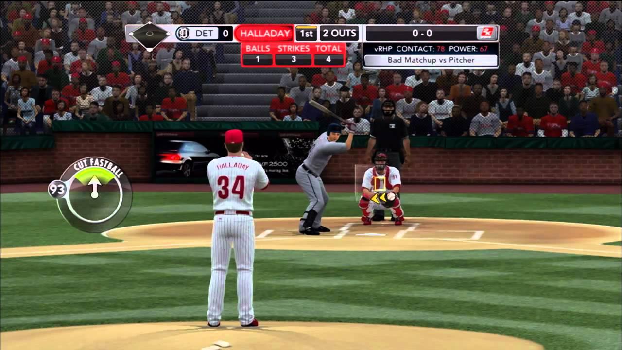 Major League Baseball 2k11 Gameplay Demo Ps3 Xbox 360