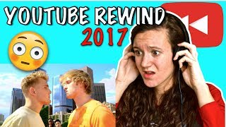 YOUTUBE REWIND: THE SHAPE OF 2017 REACTION #YouTubeRewind