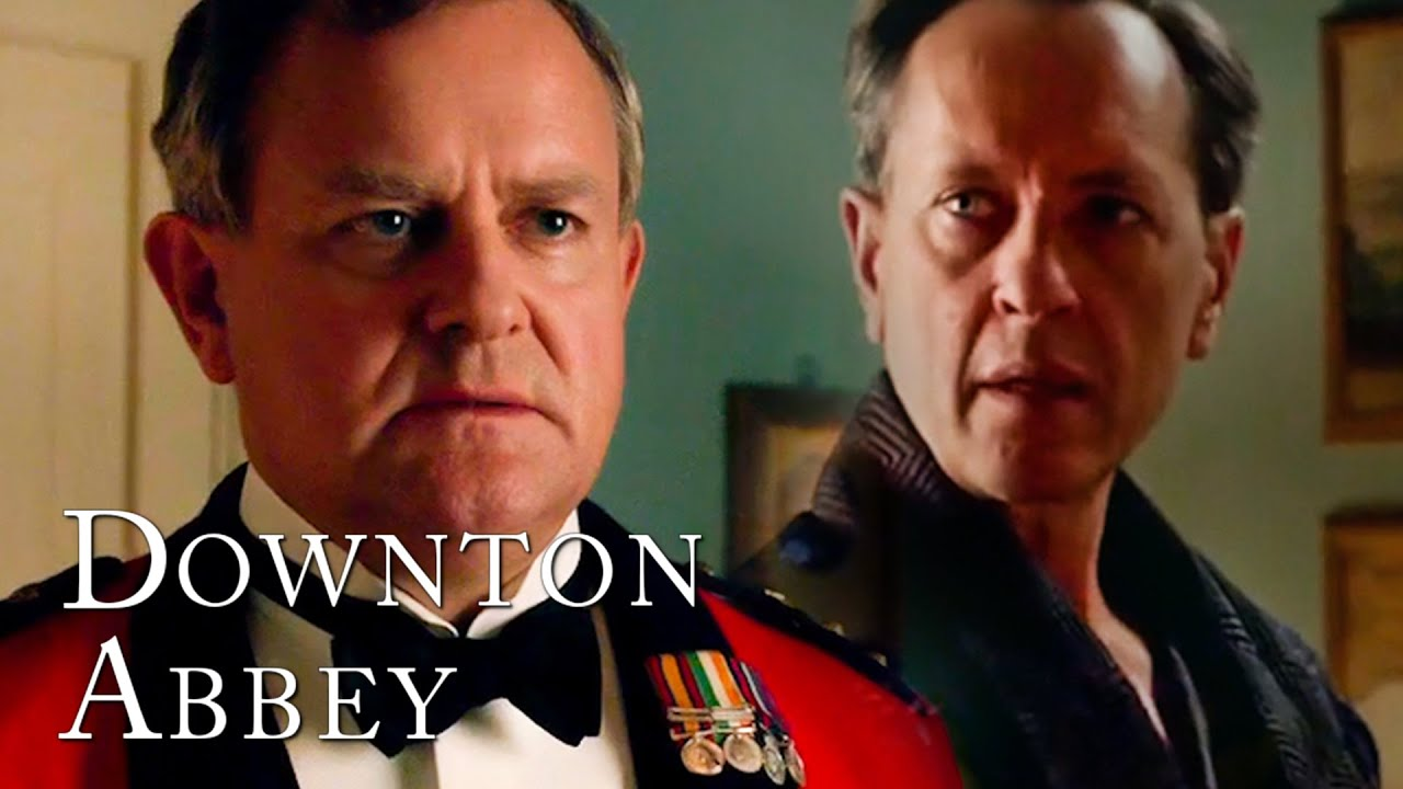 Download Robert Gets Aggressive To Defend His Wife | Downton Abbey