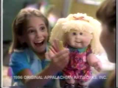 Snack Time Cabbage Patch Kid By Mattel Youtube