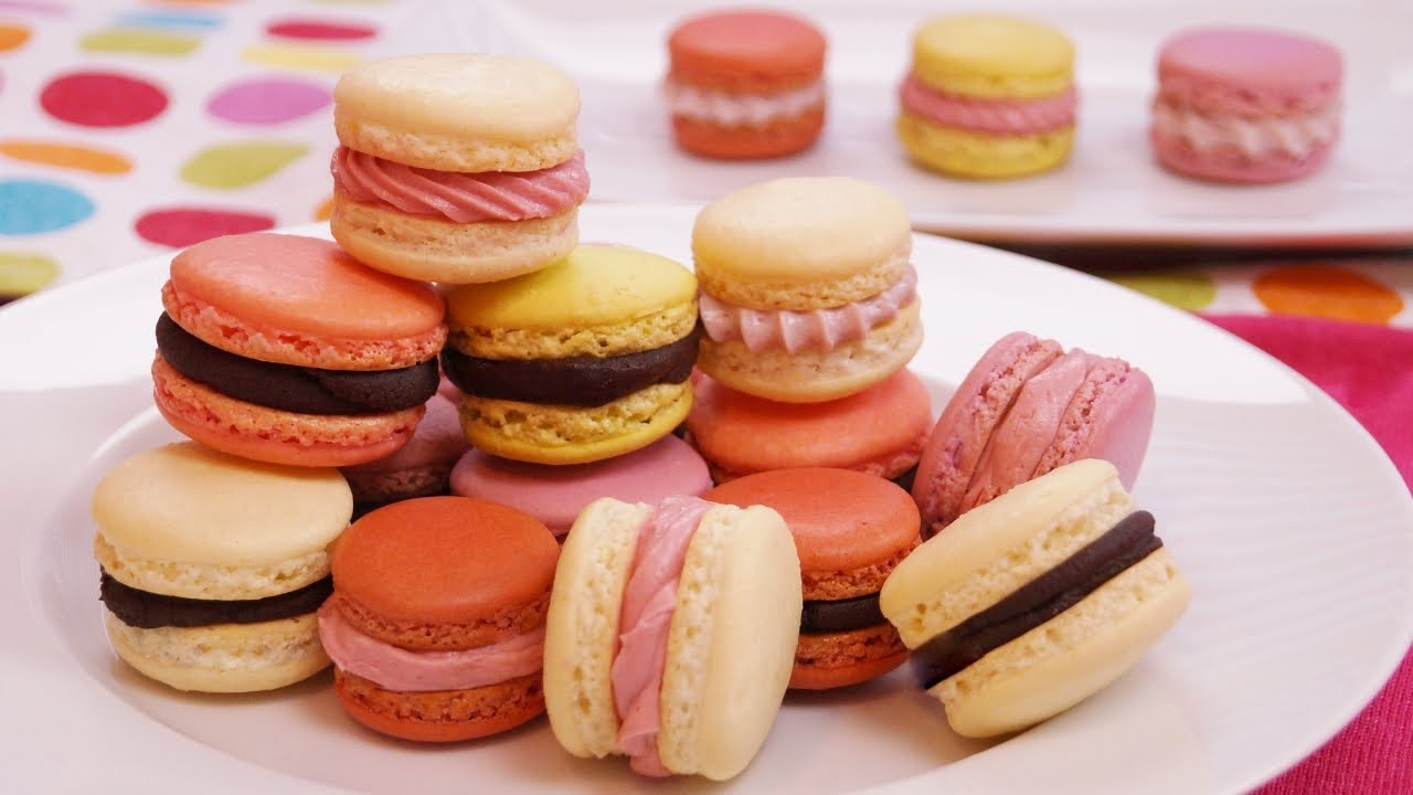 French Macarons Recipe How To Make Step By Dishin With Di 135