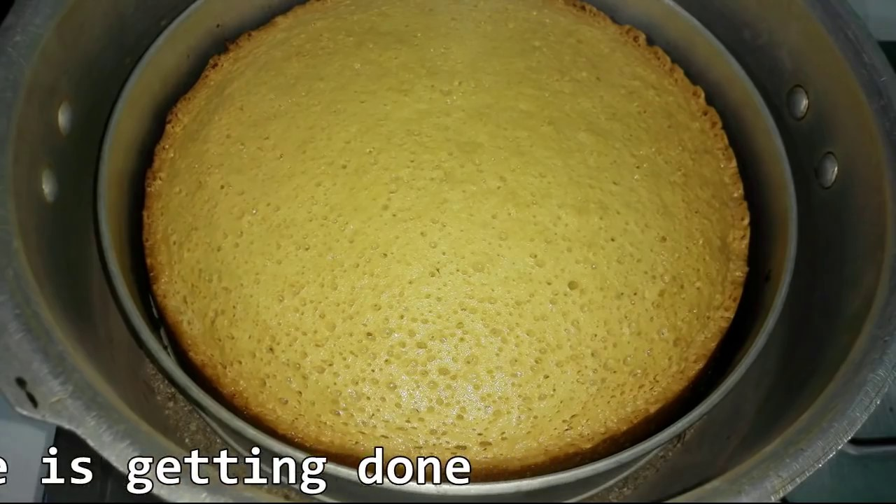 Cake Making In Pressure Cooker Malayalam: Sponge Cake Without Oven