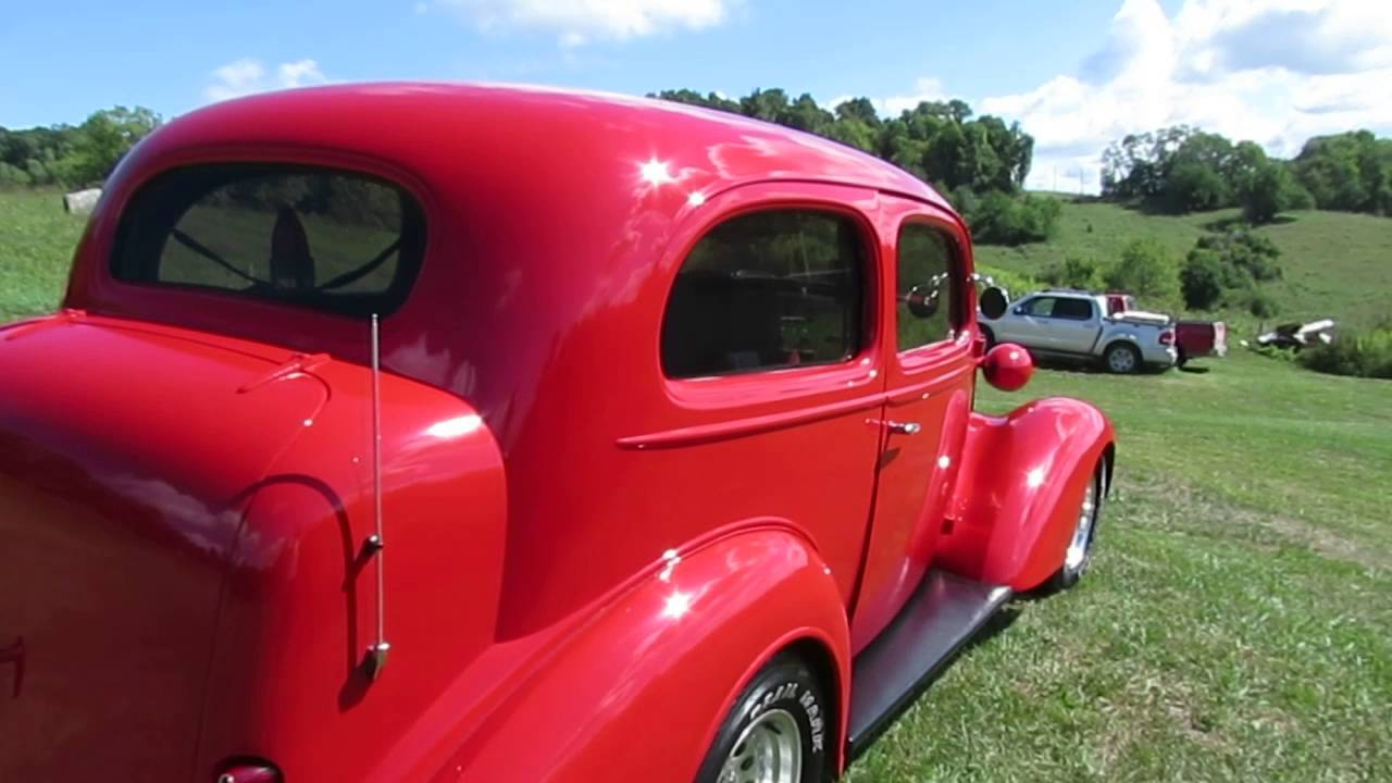 1936 Chevy Street Rod For Sale in Cumberland Ohio 43732 - YouTube