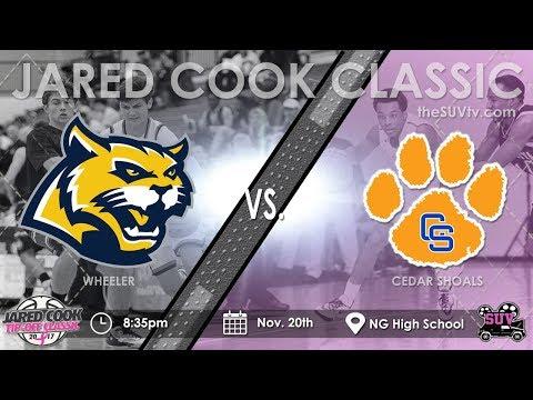 2017 Jared Cook Classic: Cedar Shoals vs. Wheeler