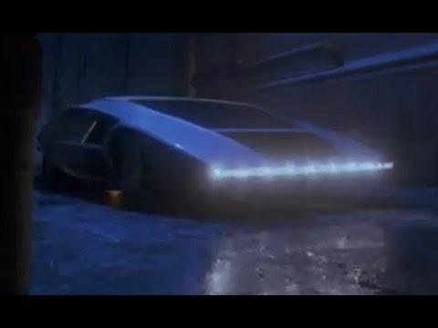 Michael Jackson and Lancia Stratos Zero by Bertone