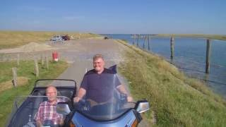 Airfilm Motor ride in Zeeland