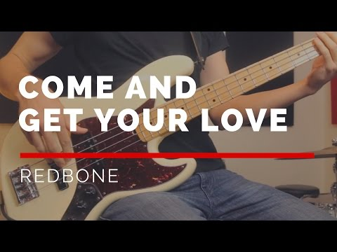 Come And Get Your Love - Redbone (Bass Cover with Sheet Music) | BASSTRANSCRIPTIONS #12