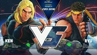 SFV: EG Momochi vs Tokido - CEO 2016 Losers Final - CPT 2016