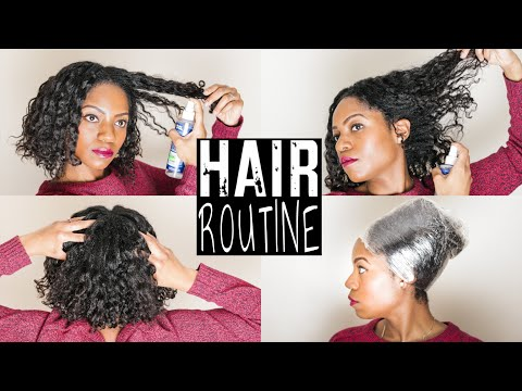 Updated HAIR ROUTINE | Transitioning Hair | 6 SIMPLE Steps You Can EASILY Apply