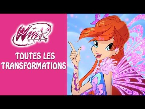 Winx Club Toutes Les Transformations [French/Français]