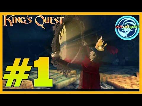 KINGS QUEST 1 Kinda Funny Moments [Dragon ENCOUNTER] part 1