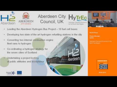 Hydrogen Transport Economy in the North Sea Region