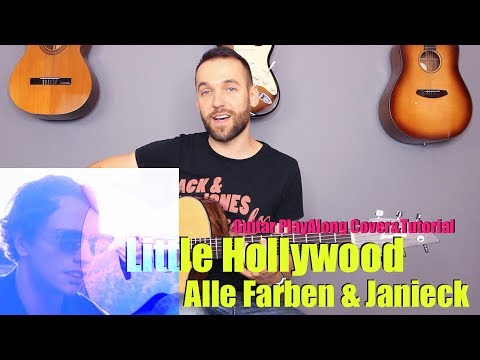 Alle Farben & Janieck - Little Hollywood Guitar Cover Tutorial (|chords|MusicSheet)