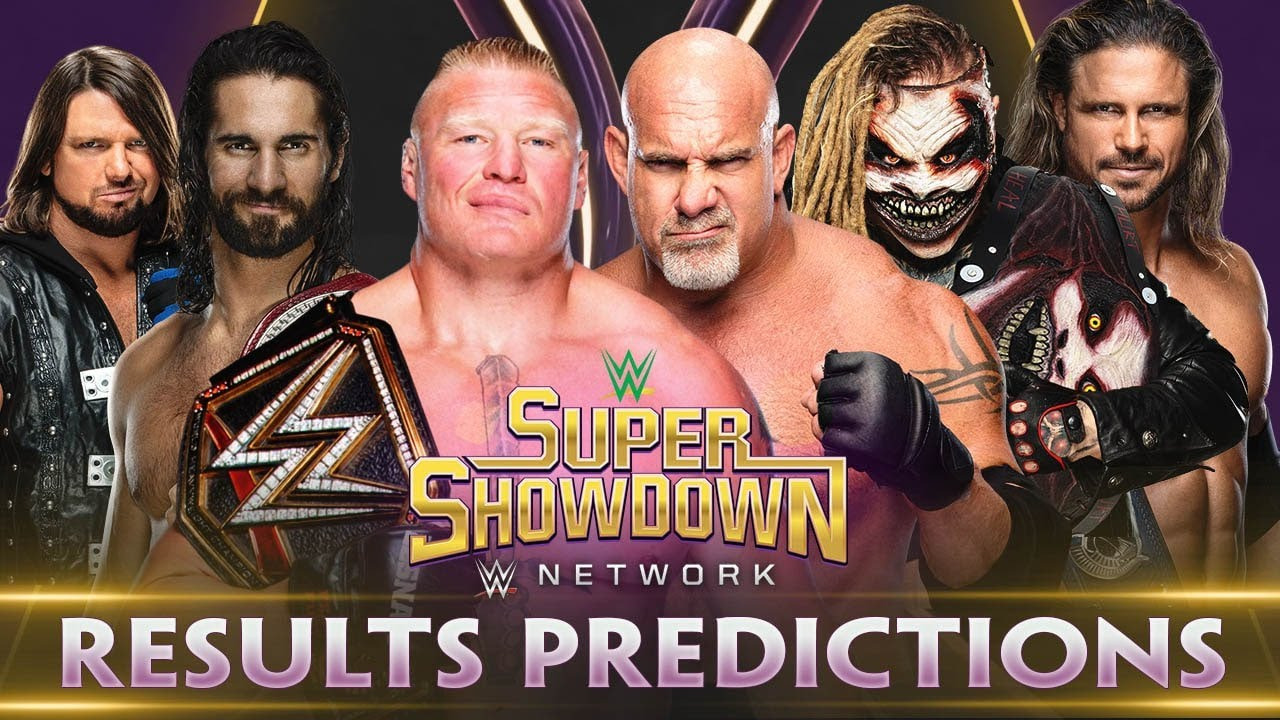 WWE Super ShowDown 2020 Results: Reviewing Top Highlights ...