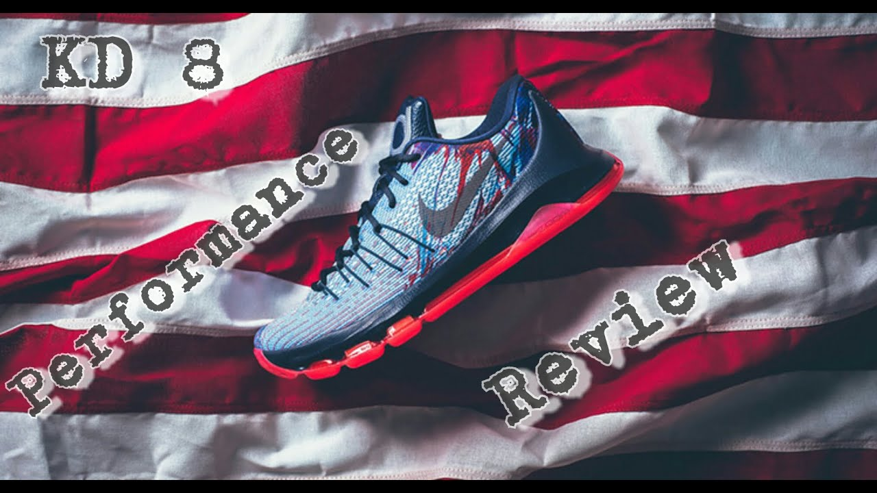 reputable site 3f8be 17139 Nike KD 8 Performance Review