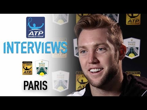 Sock Reacts To Win Over Pouille In Paris 2017