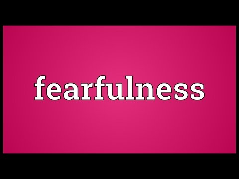 Header of fearfulness
