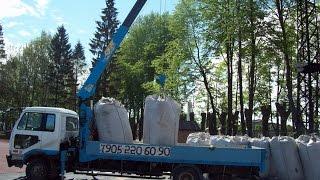 видео аренда крана-манипулятора 1 тонна в Москве и области