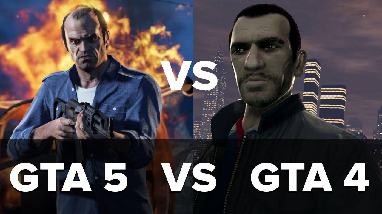 9 razones por las que GTA V será mejor que GTA IV