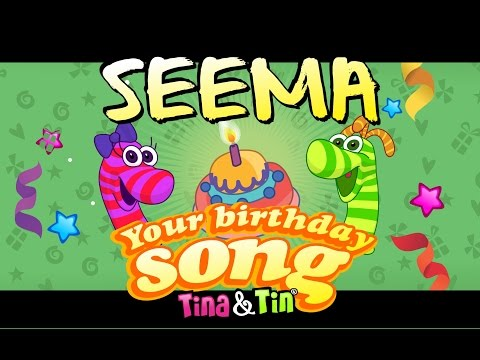 Tina&Tin Happy Birthday SEEMA