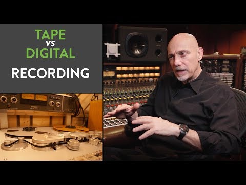 Tape VS Digital Recording - Joe Chiccarelli