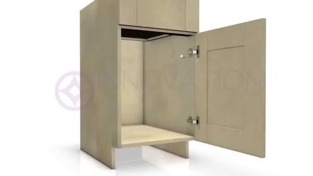 How To Assemble Frameless Base Cabinets From Kitchen Cabinet Kings Youtube