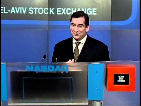 Tel Aviv Stock Exchange Opening Bell In Nasdaq  - 26.11.2007