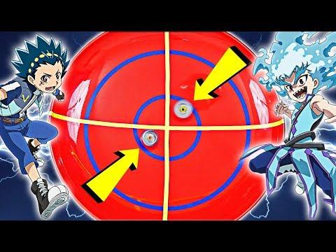 VALT VS LUI - Beyblade Real Life Anime Stadium BATTLE! (Beyblade Burst) ベイブレードバースト 베이블레이드 버스트
