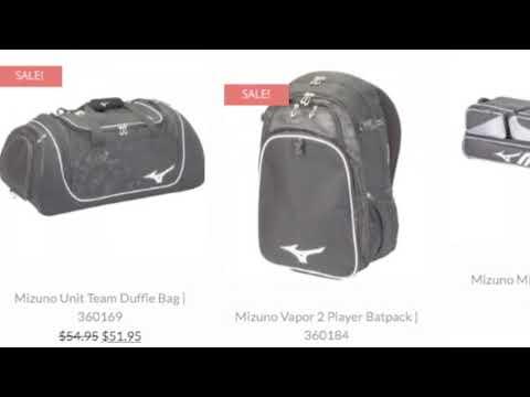 Mizuno Baseball Bags  a4ee9fa6e0abb
