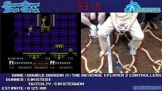 SGDQ 2013 Double Dragon II by Sinister1 - 1 player, 2 controllers
