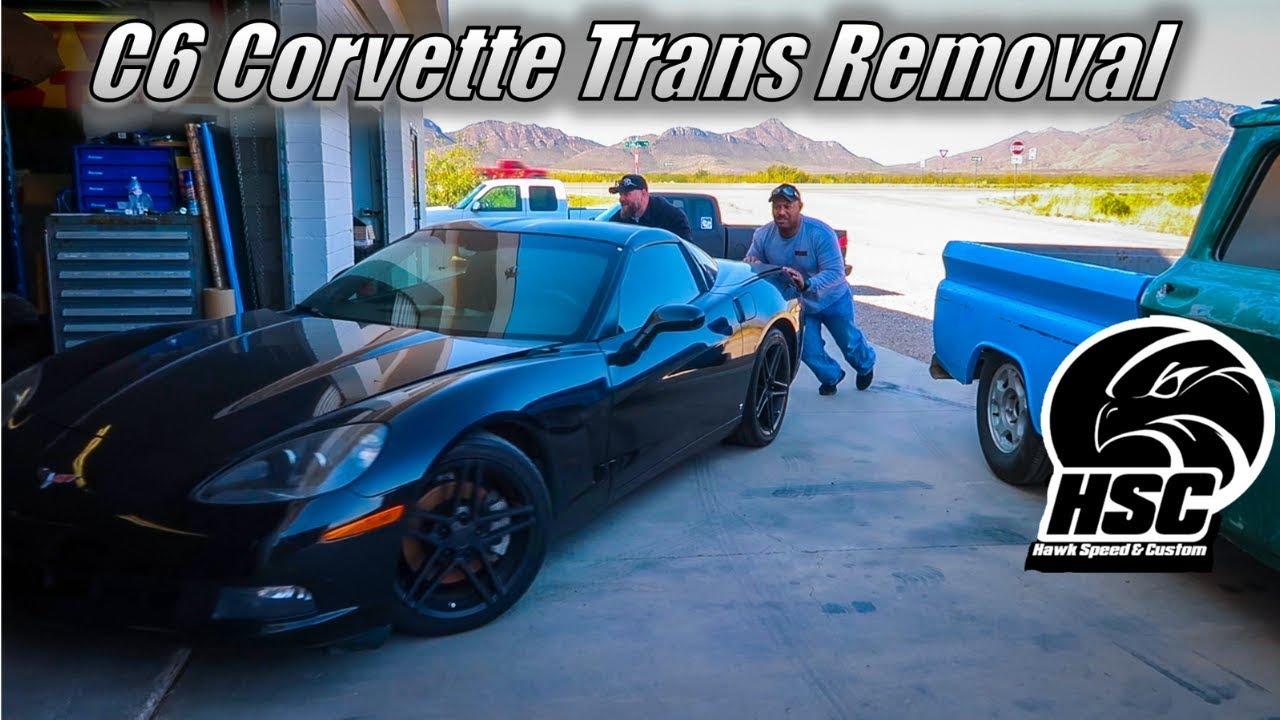 C6 Corvette Transmission Removal