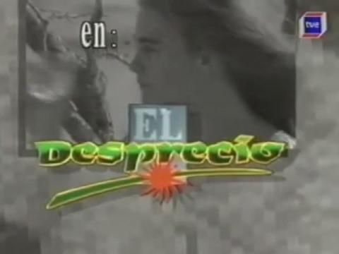 El desprecio 1991 Cabecera. Telenovela emitida por TVE1