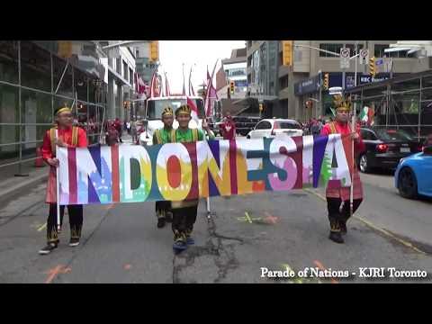 KJRI Toronto: Parade of Nations - Perayaan Canada Day 2017