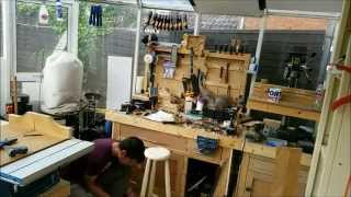 Build a Bar Stool from a 2x4 & Hand tools. Summers woodworking 2X4 contest 2014