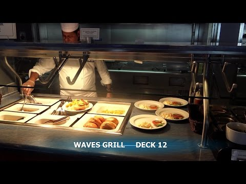 MS MARINA - OCEANIA CRUISES - ALL RESTAURANTS TOUR