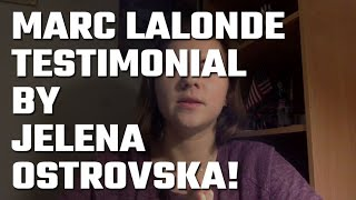 🎥 Marc Lalonde (The Wealthy Trainer) Testimonial by Jelena Ostrovska!