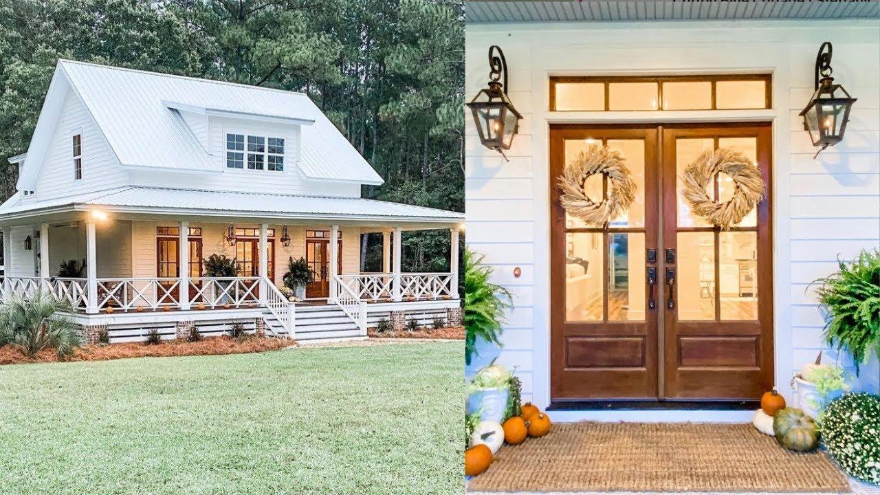 Adorable Fall Farmhouse Home Tour 2021 | Simple Fall Accents | Fall Decorating Ideas