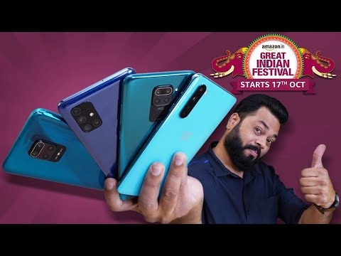 Amazon Great Indian Festival Sale 2020⚡⚡⚡ Best Deals On All-Rounder Smartphones!