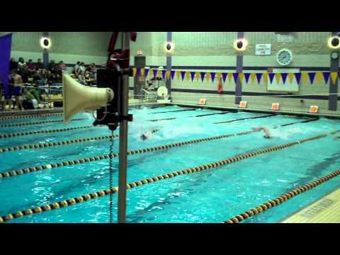 50 Free Ballston Spa Boys Swimming vs. Saratoga - Heat 1