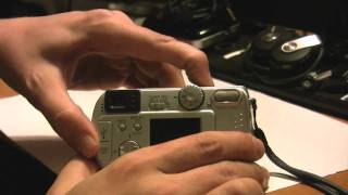 Sony Camera Format Error Fix for Memory Card - Sony DSC-P31